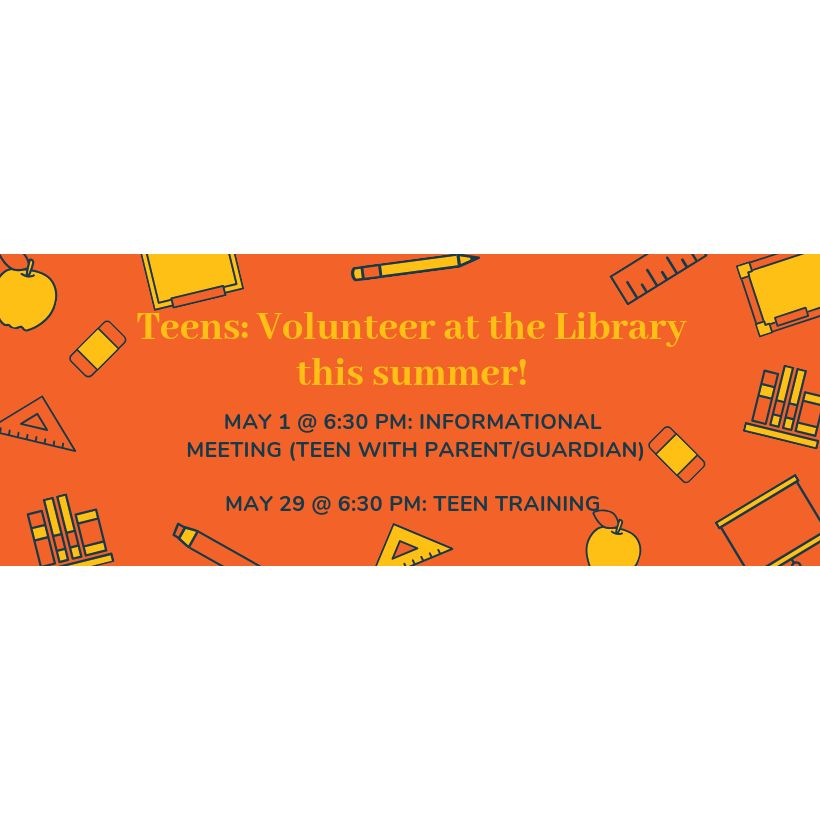 Teen Volunteer Program at Baldwin Library