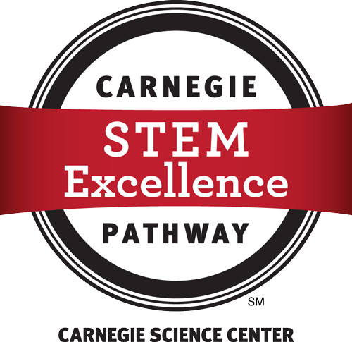 Carnegie Science Center STEM Excellence Pathway logo link to Carnegie Science Center