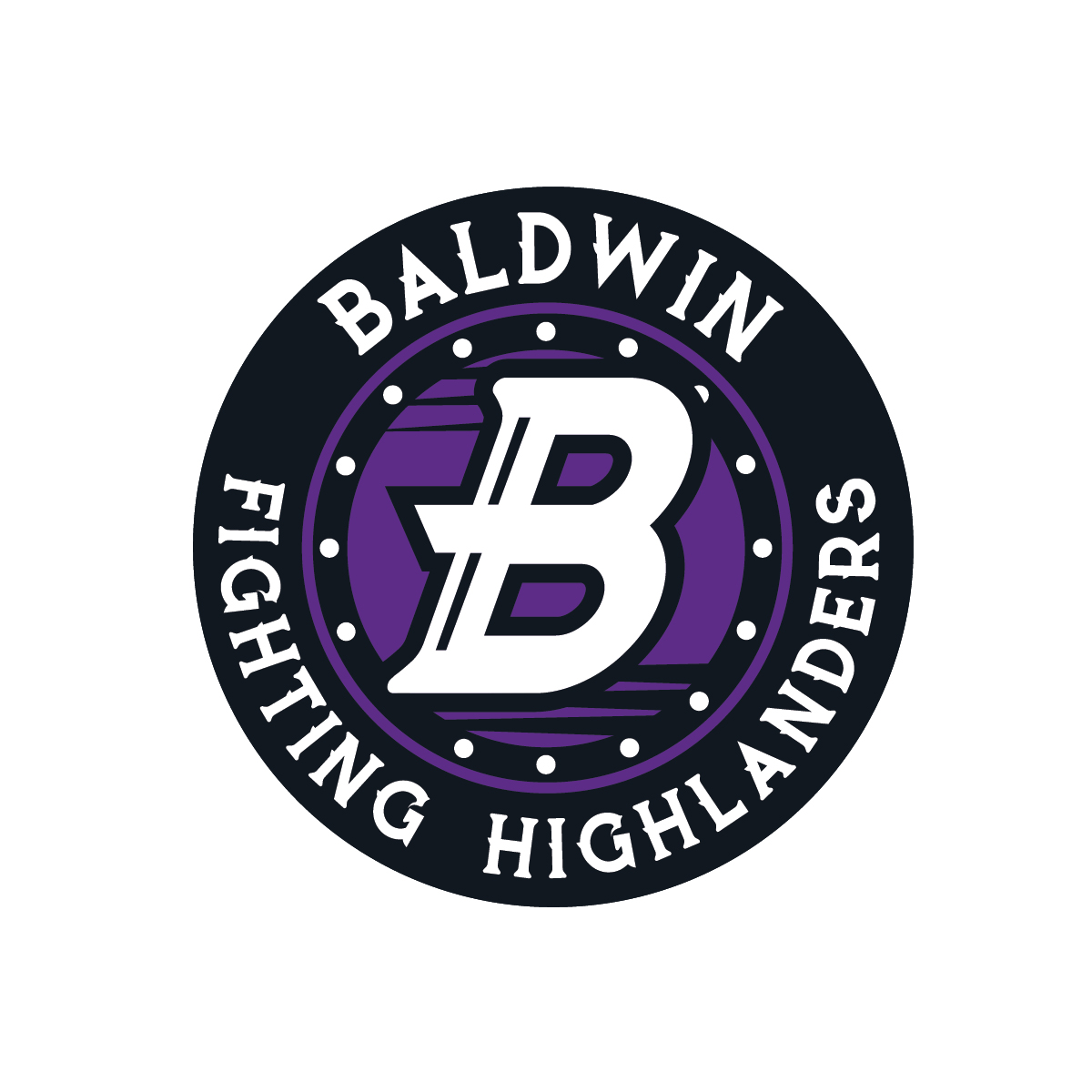 Curtains the musical logo - Baldwin 22b 22 Seal Logo